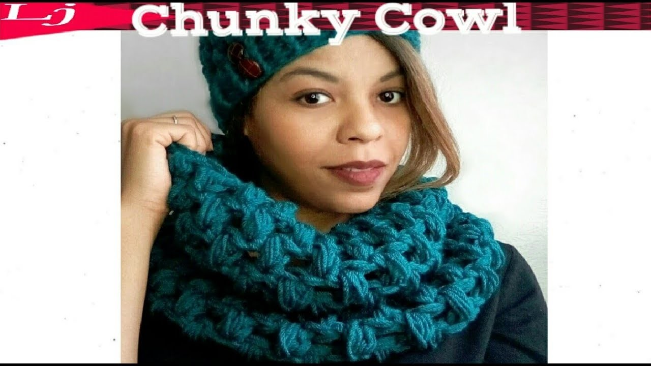Crochet Super Chunky Cowl - How to substitute worsted weight yarn for super bulky