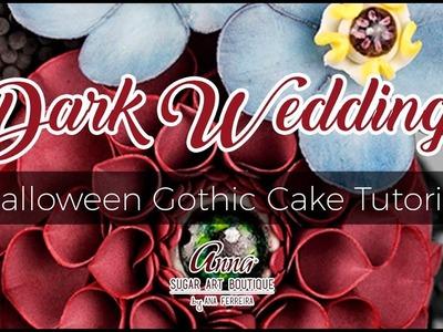 Dark Wedding - Halloween Gothic Cake Tutorial