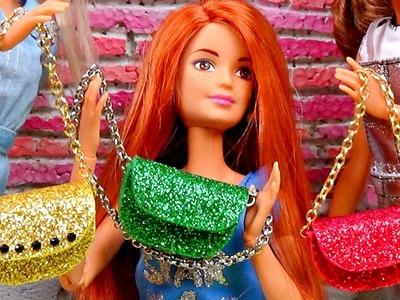 Diy doll purse │ Diy Barbie bag │ How to make a doll bag │ DIY For Dolls
