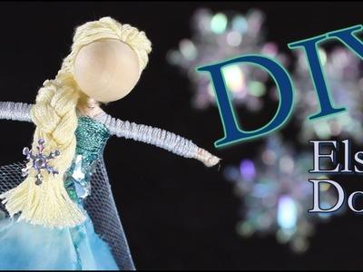 DIY Elsa Doll | How To Make Elsa Doll From Frozen
