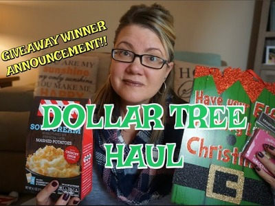 DOLLAR TREE HAUL 11.1.17 | GIVEAWAY WINNER ANNOUNCEMENT ????????