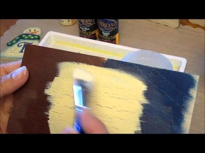 How To Apply DecoArt Weathered Wood Crackle Medium