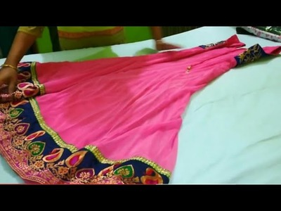 How To Fold And Organize Anarkali Suit - KonMarie Method Of Organizing Anarkali Kurta