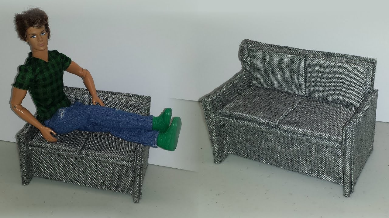 How to make a Doll Couch