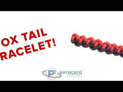 How To Make A Fox Tail Paracord Bracelet