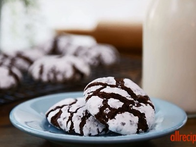 How to Make Chocolate Crinkles | Cookie Recipes | AllRecipes
