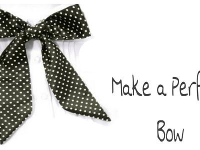 How to make Ribbon Bow in Hindi