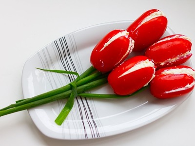 How To Make Tomato Flowers