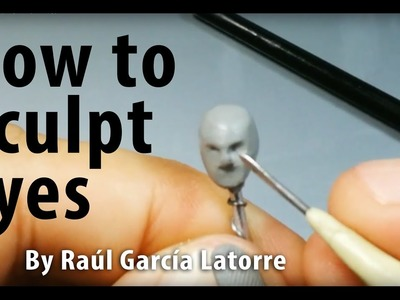 How to sculpt eyes (very simple way)