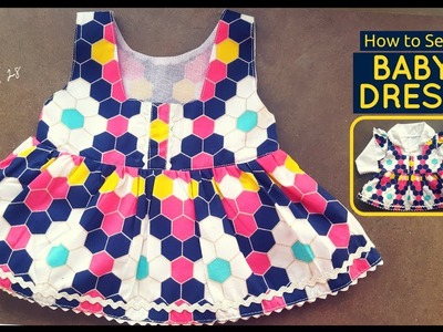 How to Sew: Baby Dress -  Beginners Sewing Lesson 28