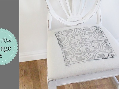 How To Stamp Fabric