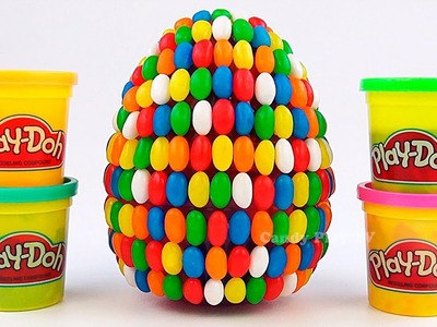 Huge Fini Surprise Egg | Learn Colors with Play Doh for kids | Learn name fruits and vegrables