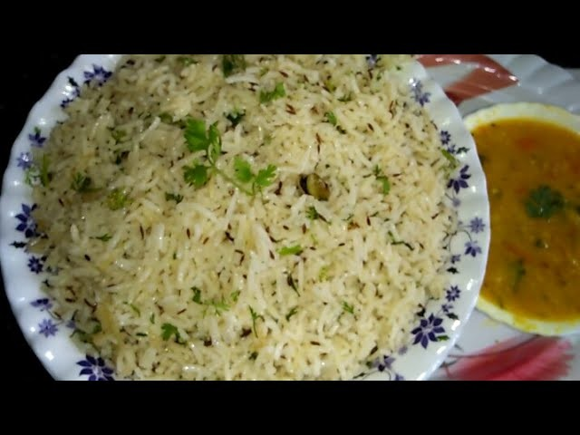 Jeera Rice Recipe. How To Make Jeera Rice In Kannada.Restaurant Style Jeera Rice Recipe In Kannada