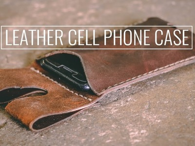 Leather Cell Phone Case | How-To