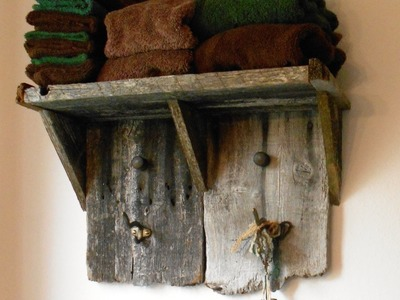 Making a Rustic Shelf