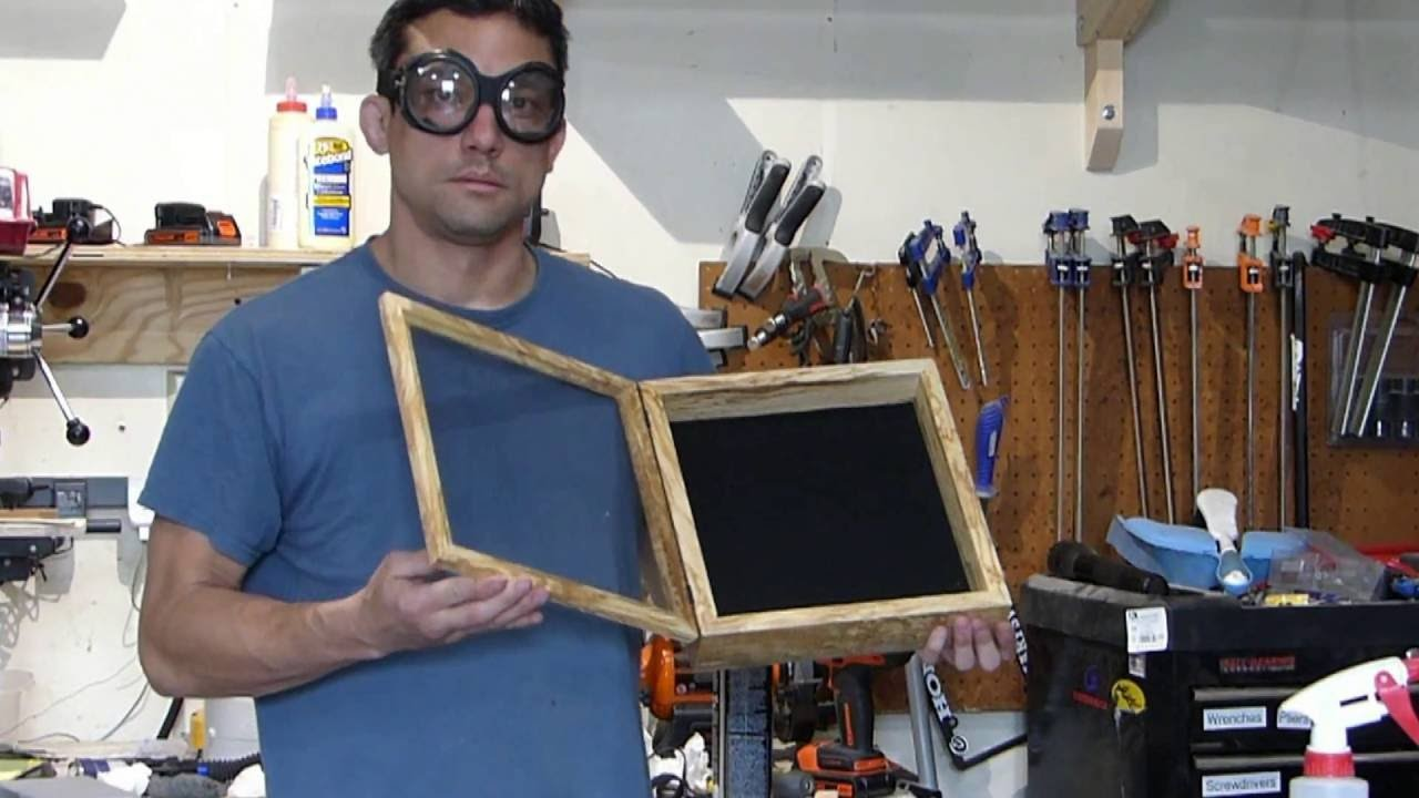 Making a Shadow Box - A Birthday Gift For Mom