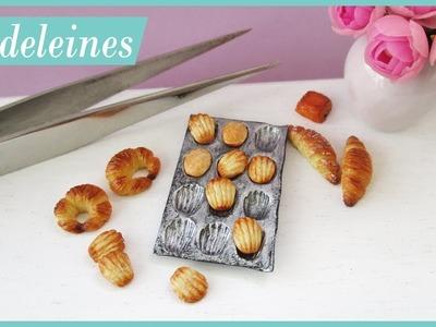 Miniature Madeleines & Baking Tray Polymer Clay Tutorial || Maive Ferrando