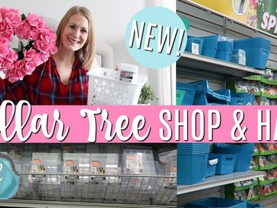 NEW! DOLLAR TREE SHOP WITH ME & HAUL! ???? Valentine's, Quick DIYs, Organization 2018