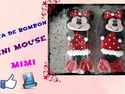 Paleta de bombon de minni mouse, o mimi