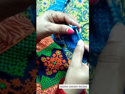 Part 2 | woolen socks for kids or baby in hindi | woolen sweater designs