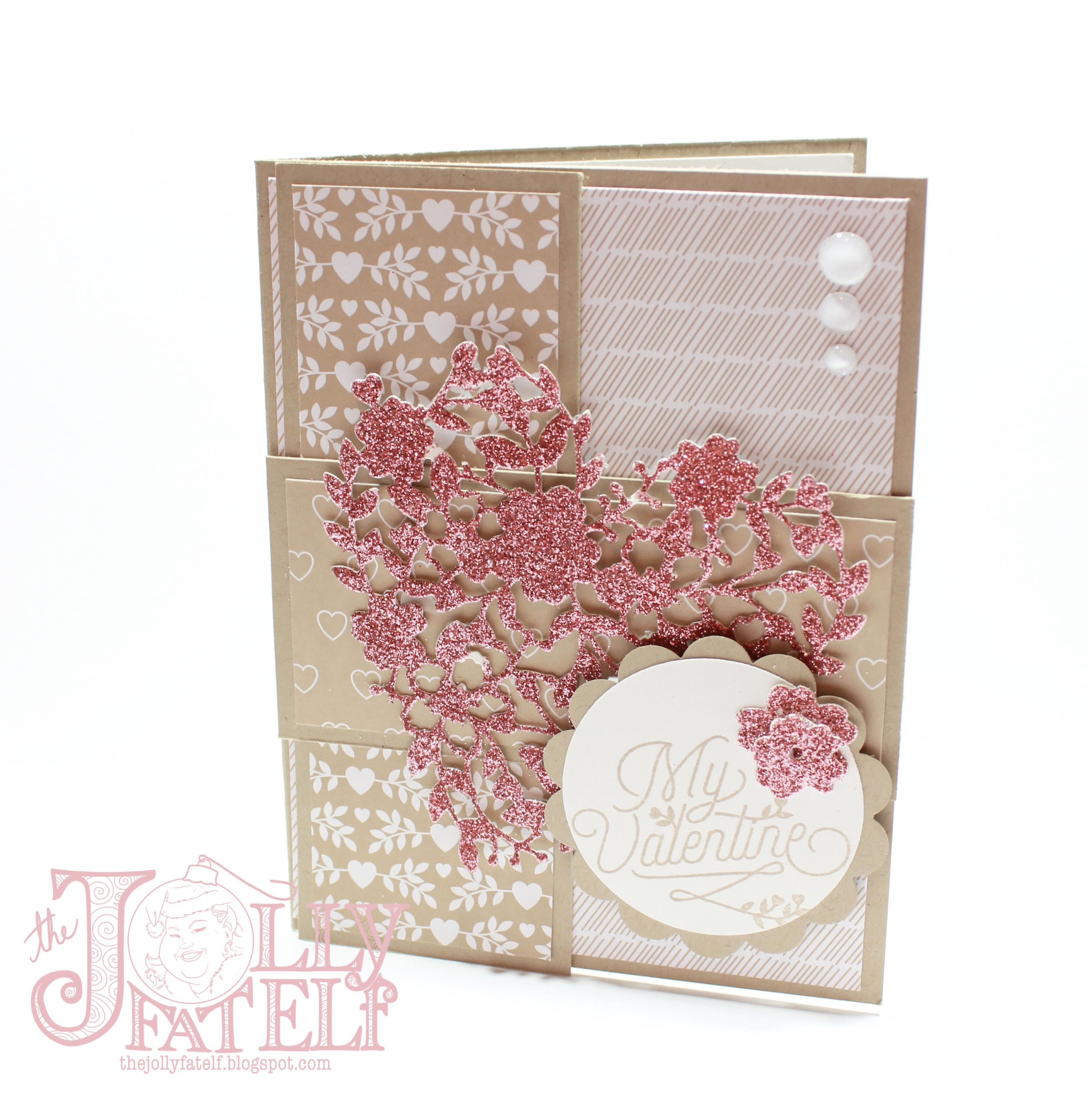 Stampin' Up! and Stampin' with the Elf Stampy Valentine's Week Project 4