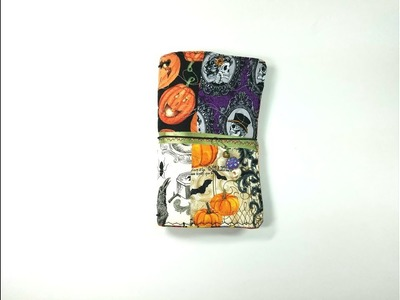 Tutorial - How to Make a Fabric Traveler's Notebook Cover
