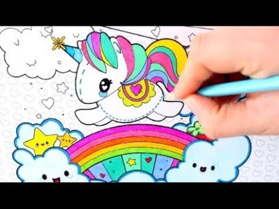 ???? Unicorn Coloring Pages for Kids ???? - ????Art Colors for Children - Learn Drawing