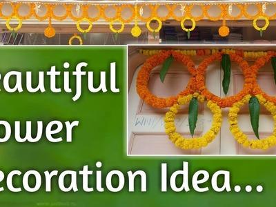 Beautiful Flower Decoration Idea