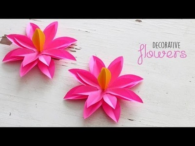 DIY Decorative Flowers
