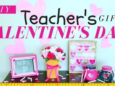 DIY VALENTINE'S DAY GIFTS FOR TEACHERS | DIY VALENTINE'S DAY GIFTS