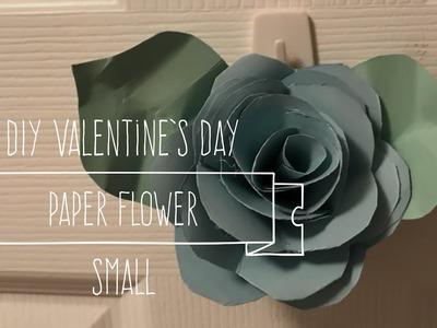 DIY Valentine's Day  Paper Flower Small