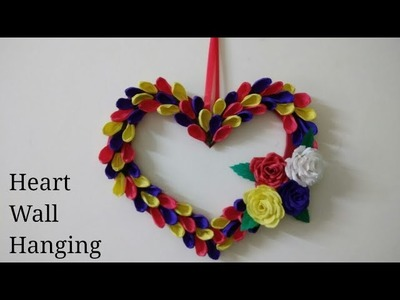 DIY Valentines Wall decoration ideas|Heart wall hanging|Home decoration ideas|Valentines gift ideas