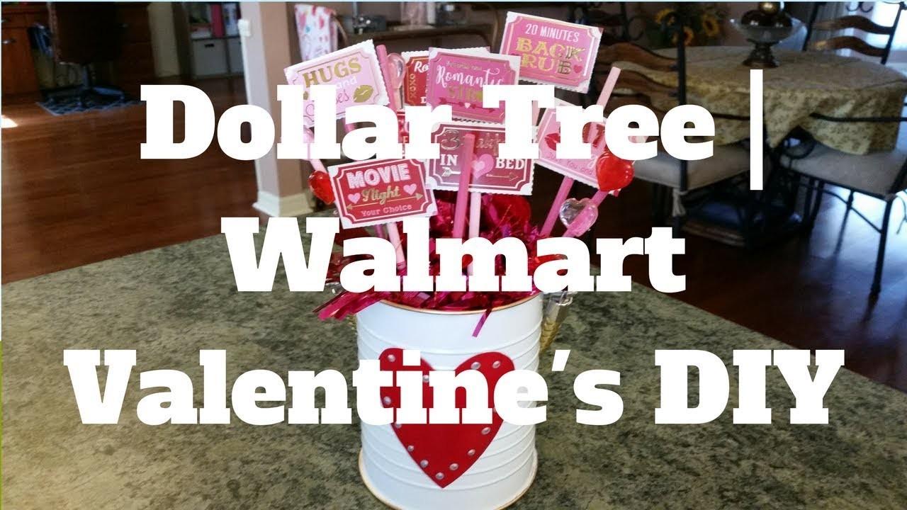Dollar Tree   Walmart Valentine's DIY