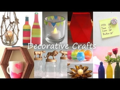 Easy Decorative Craft Ideas