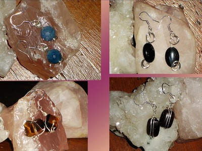 Feng Shui Glass & Crystal wind chimes, sterling silver wire wrapped jewelry