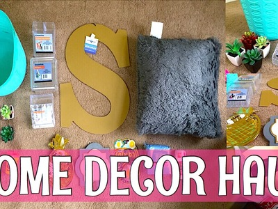 FIVE BELOW + DOLLAR TREE | HOME DECOR HAUL!