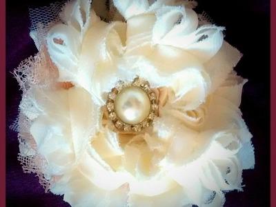 FUNKY FLORAL SERIES MY SHABBY ROSETTE FLOWER