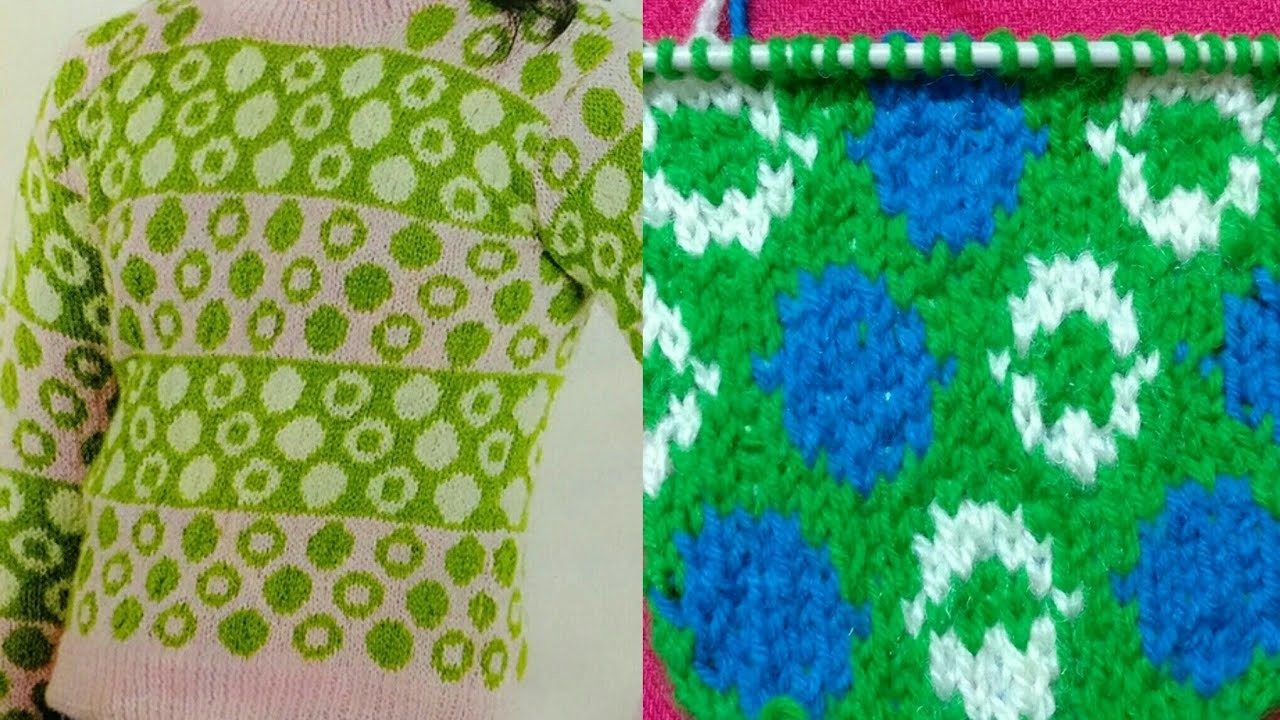 Hara Bhara Sweater for Girls:Design-42