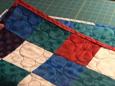How to add a binding to your quilt (no hand sewing required)
