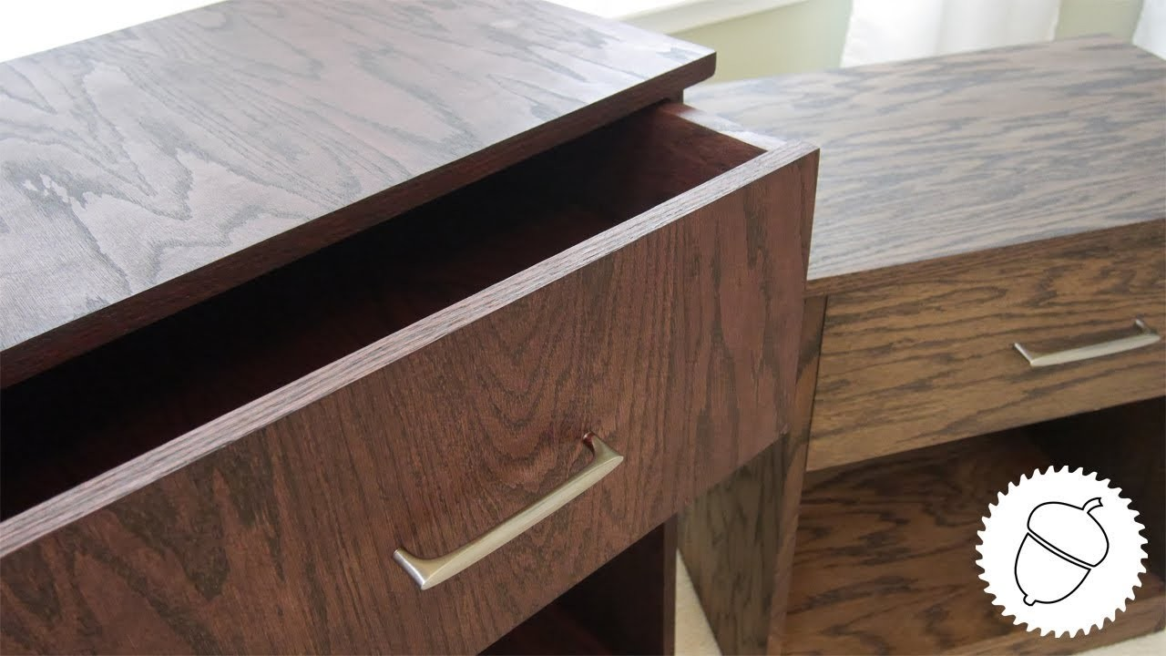 How to Build a Pair of Nightstands | With Free Plans!