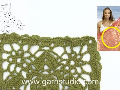 How to crochet after A.2a+b – part 2 in DROPS 175-10