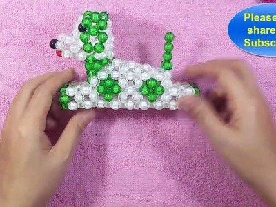 How to make a beads dolls. the bead Dog (3.3)