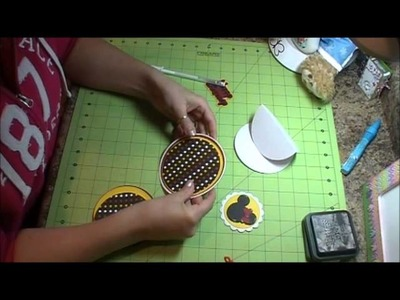 How To Make a Circle Easel Card, Episode 239