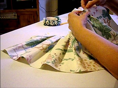 How to Make a Floral Doll Skirt Pt. 2