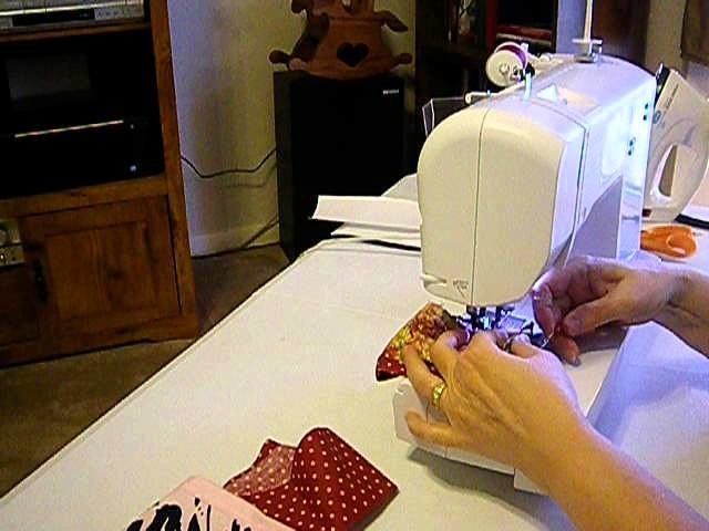 How to Make a Simple Doll Skirt Pt. 4