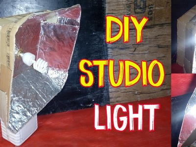 How to Make a Studio Light At home