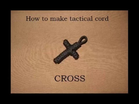 How to make a Tactical Cord Cross