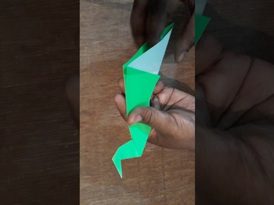 How to make an easy origami peacock