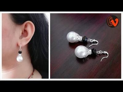How to Make Beaded Earrings. DIY. Beginners