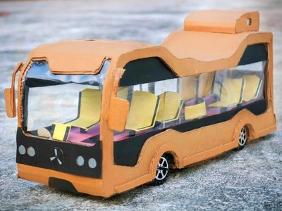 HOW TO MAKE DC MOTOR MERCEDES BENZ FUTURE BUS